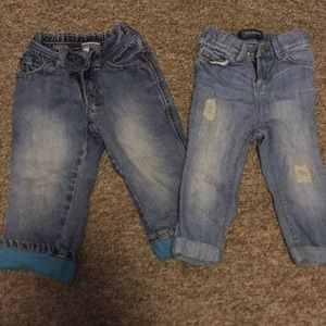 Two pairs of jeans! 18M